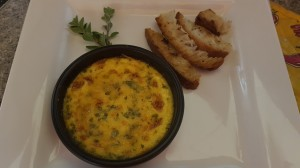Creme brulèe al parmigiano