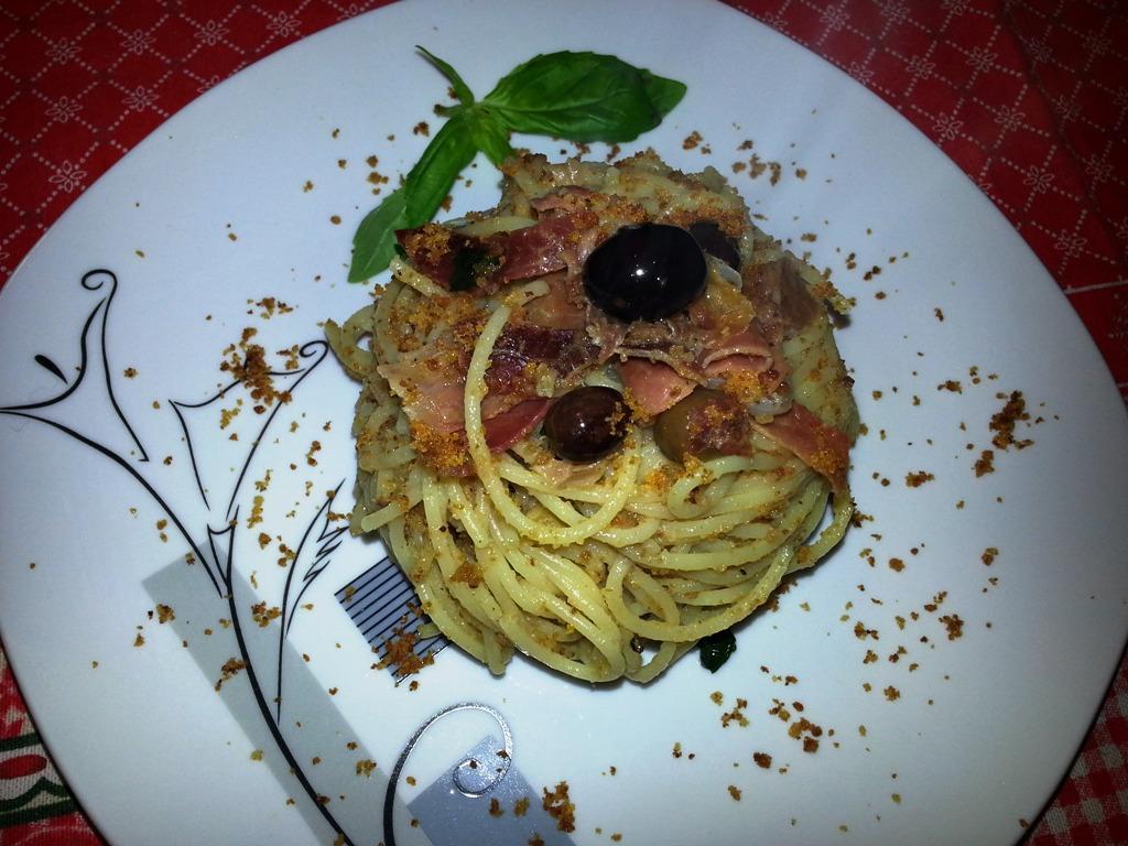 Spaghetti alla ligure