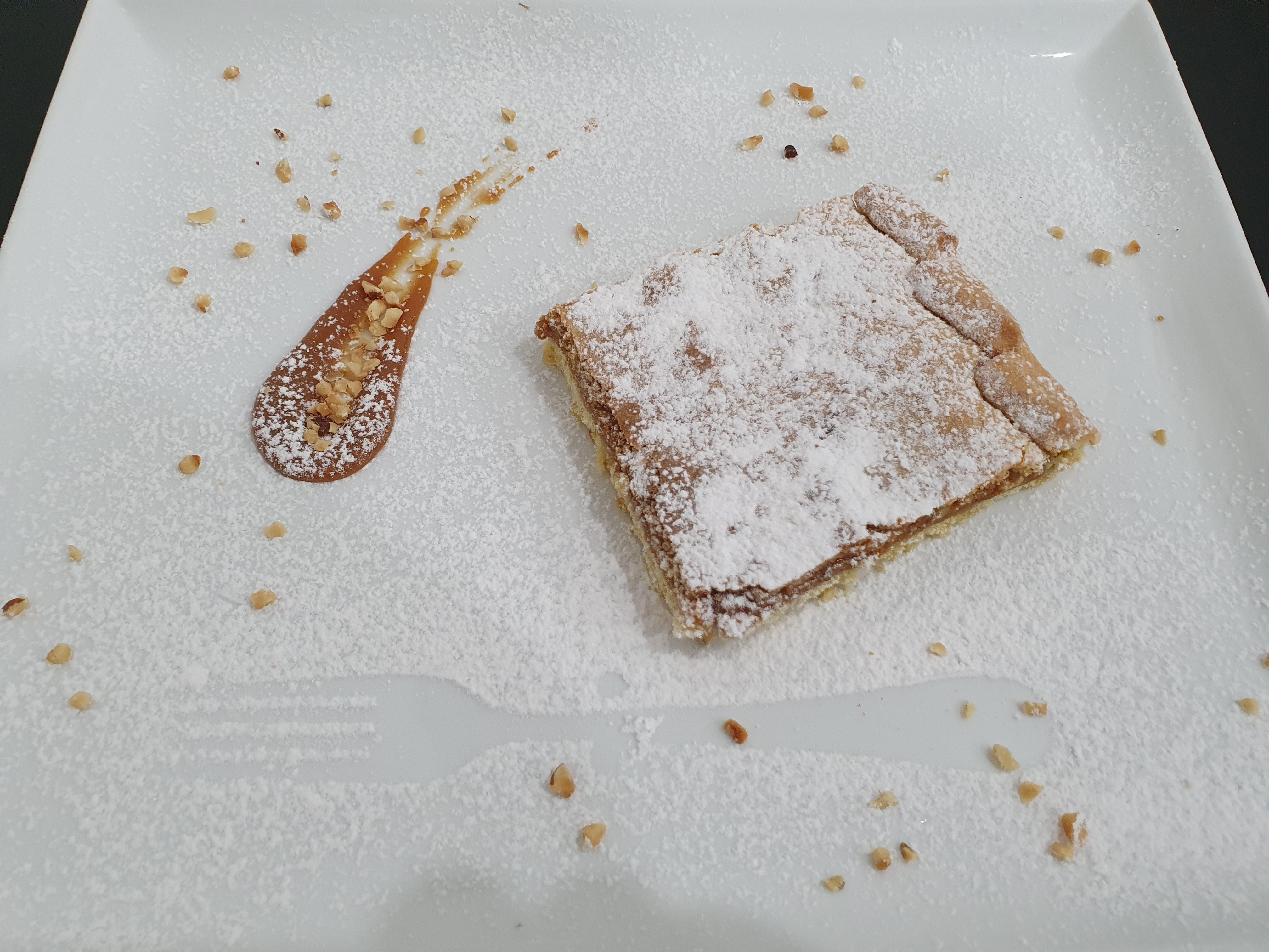 Crostata mou e noci