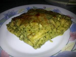 Lasagne al pesto 2