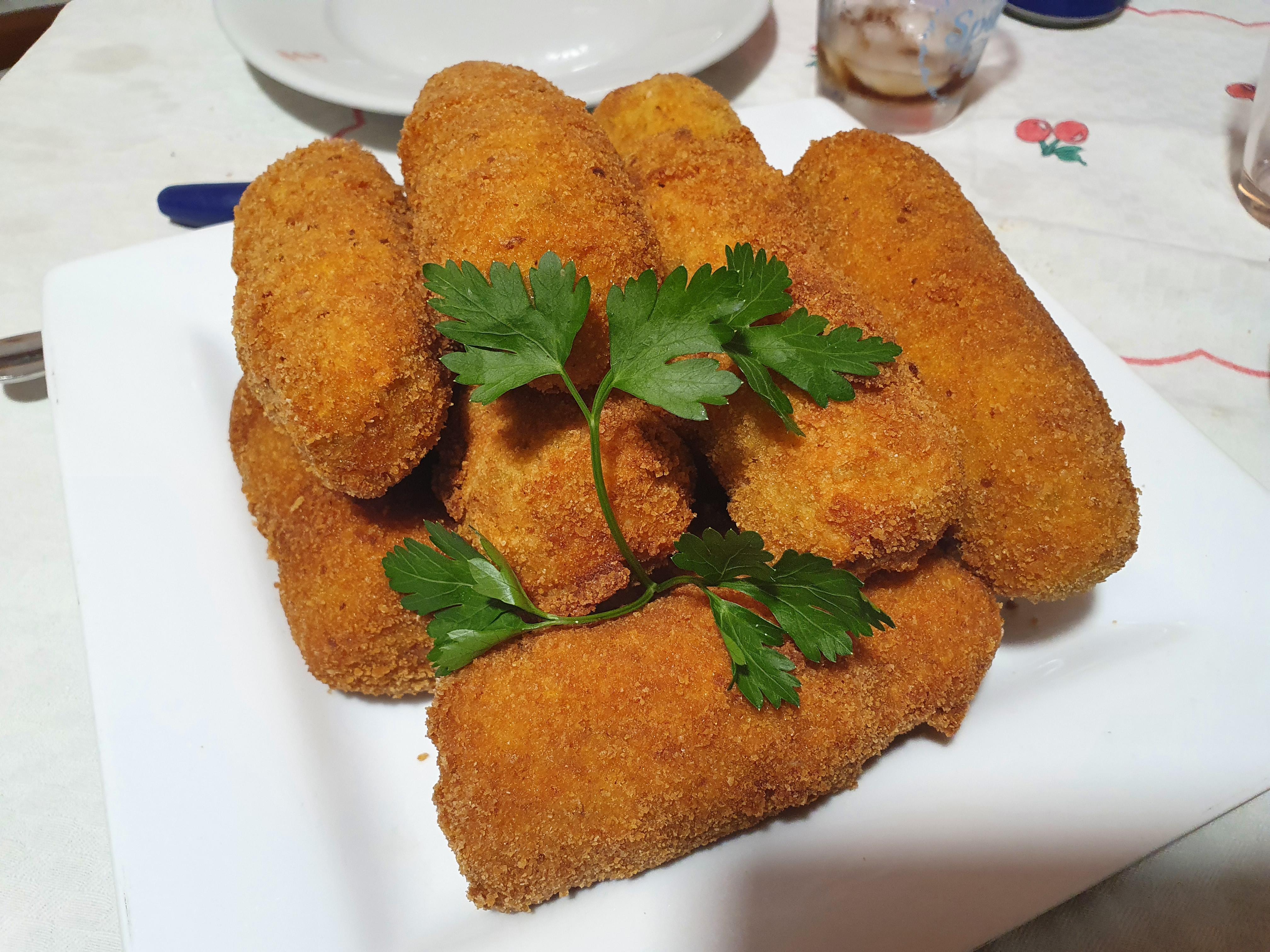Panzarotto napoletano (Crocchè)
